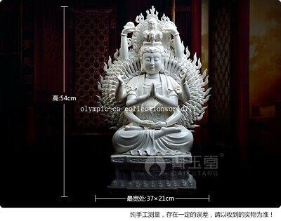 Feng Shui Chinesische General Kwan Kong Statue 10,2 cm hoch Gold