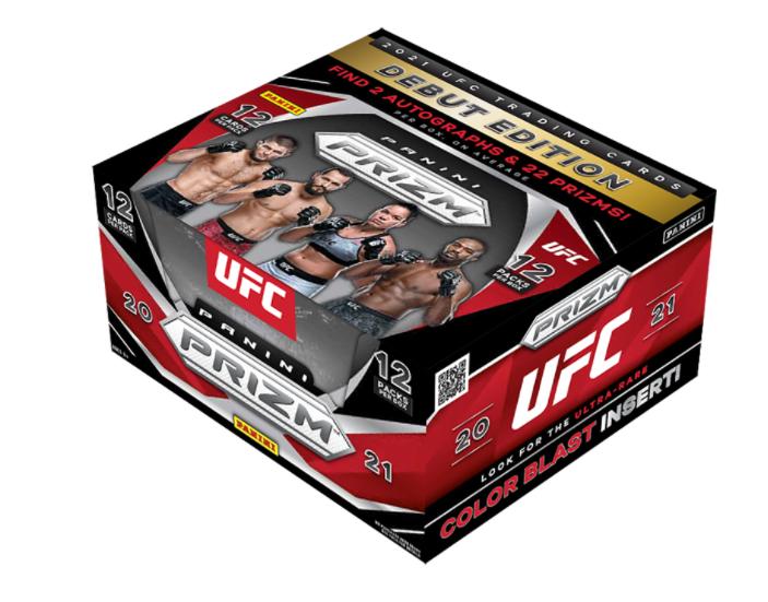 URIAH HALL 2021 Prizm UFC 12 Hobby Box/Case MMA FIGHTER Break 52 - $25.49