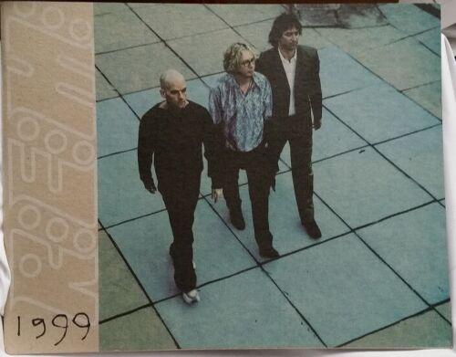 REM R.E.M. - MICHAEL STIPE -  1999 CONCERT TOUR PROGRAM BOOK - MINT CONDITION
