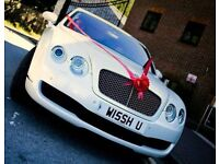 Bentley Flying Spur - For hire - Pearl White