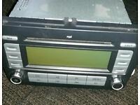 Vw original cd radio player