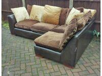 Corner sofa (free delivery)