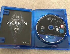 Skyrim VR game for sale as new PS4 Skyrim VR.