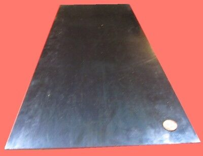 Blue Tempered Spring Steel Shim 0.025 Thick X 10.0 Width X 24 Length M