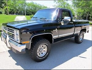 WANTED. 1980-1987 Chev truck 4x4