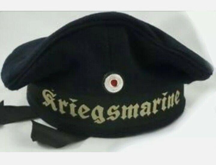 ww2 Kriegsmarine sailor cap Navy Blue wool