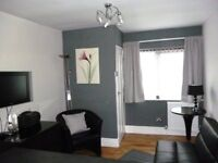 One Bedroomed Serviced Bungalow Apartment for Short Term Lets.