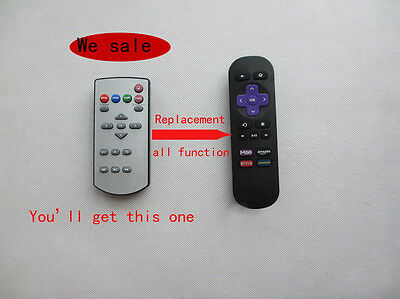 Remote Control For Roku 1 2 LT HD XD XS XDS INSTANT Streaming Media Player TV
