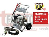 Jefferson 6.5HP Petrol Pressure Washer Power Wash 6 1/2 hp
