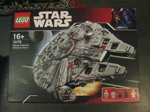 Lego Star Wars Largest Sets - Millenium Falcon 10179