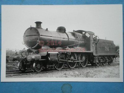 PHOTO  SR EX LSWR KING ARTHUR 4-6-0 796 SIR DODINAS LE SAVAGE