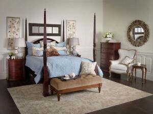 Bombay high quality queen bed