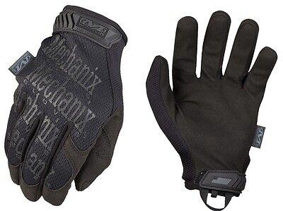 Mechanix Wear MG-55-010 Men's Covert Black The Original Gloves - Size Large