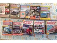 Practical Classics magazines 1990 To 1999 Some Part Years