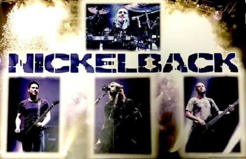 NICKELBACK 2007 ALL THE RIGHT REASONS TOUR OFFICIAL 1st PRINTING PROMO POSTER