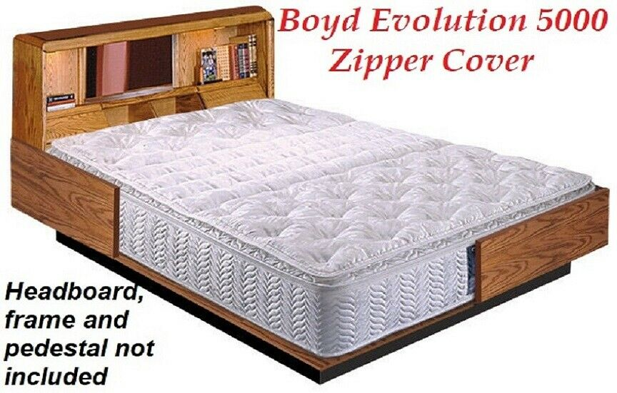 BOYD LIQUIDATION-Super Single PLUSH PILLOWTOP Waterbed Mattr