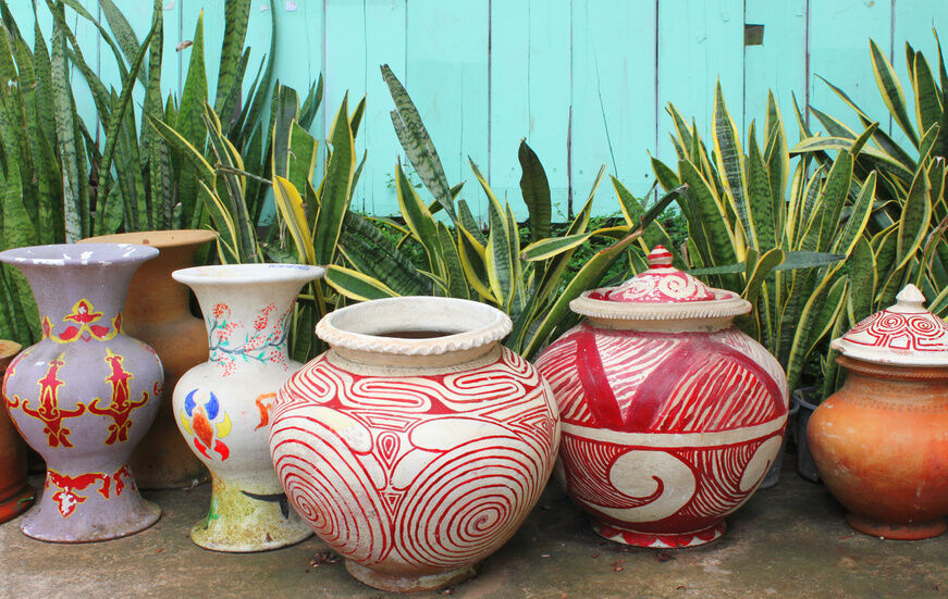 How to Decorate Clay Pots | eBay