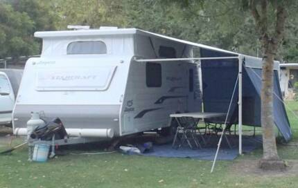 Jayco Pop-top Caravan Rutherglen Indigo Area Preview