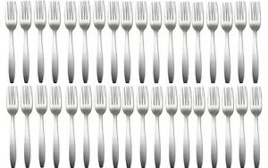 Delco-Slimline-by-Oneida-36-Dinner-forks-New-Stainless-Flatware-CLEARANCE