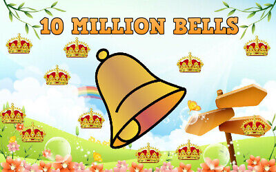 Animal Crossing New Horizons 10 Million Bells + 50 Nook Miles Tickets NMT