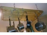 Suspended Hahn saucepan rack