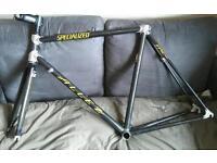 Specialized allez epic carbon fibre frame and forks