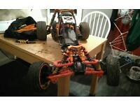 King motor brushless baja rc not petrol or nitro fully ready to run