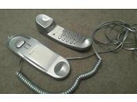BETACOM SILVER SLIMLINE LANDLINE PHONE