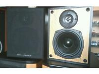 Wharfdale speakers