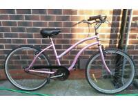 Reflex beach cruiser bike