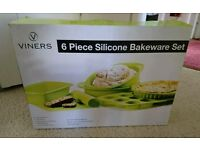 6 Piece Silicone Bakeware Set Baking
