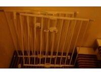 2 x Lindam baby gates