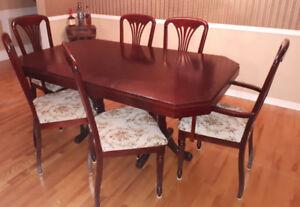 Table salle a manger (offre raisonnable acceptée)