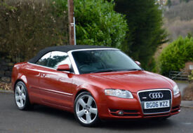Audi A4 Cabriolet 2.0TDI 2007MY S Line Red