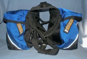 """DOG APPROACH BACKPACK BY RUFFWEAR SIZE SMALL 22"""" to 27"""" CHEST"""