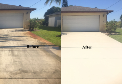Pressure Cleaning From $70 Driveway Cleaning/Concrete Sealing