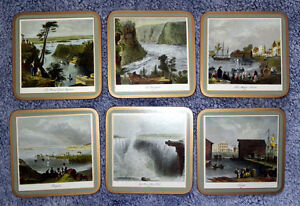 6x Pimpernel Coasters