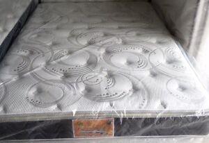 """NEW 60""""x78""""Queen Silver/White Pillow-top Mattress Only $350!!!"""