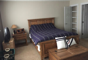 Fully Furnished Master Bedroom for Rent *ph.306-222-2885*