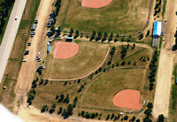 City of Lacombe's Ball Diamond Promotion for Tournaments