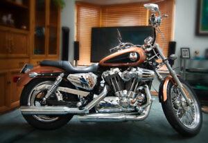 Harley Davidson sporster 1200cc 2008 anniversaire 31,000 km