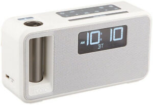ALARM CLOCK,FM Radio, Bluetooth, IHOME IKN105WC BT