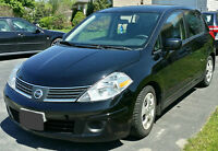 2007 Nissan Versa S HATCHBACk, CERTIFIED & E-TESTED 144km