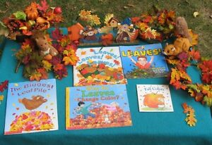 Primary Books Fall and Leaf Theme