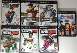 PS2 Games Available