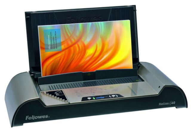 Thermobindegerät Fellowes Helios 60, bis 60 mm, Bindemaschine für Thermobindung