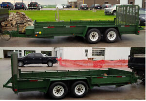Deluxe Landscape Trailer with Side Gate CALL,TEXT 416-562-5019