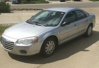 2004 Chrysler Sebring Sedan $2600 OBO