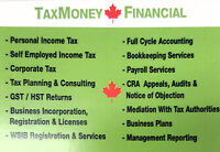 TAX PERSONAL/CORP/BUSINESS/UBER/ TAXI/TRUCK/RENTAL/REALTORS