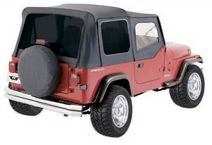 Rampage Jeep 68115 Replacement Soft Top Frame and Hardware